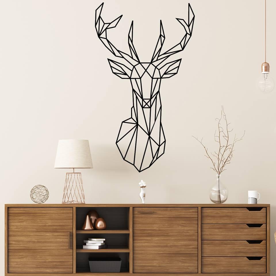 stickers cerf boutique stickers en ligne. Black Bedroom Furniture Sets. Home Design Ideas