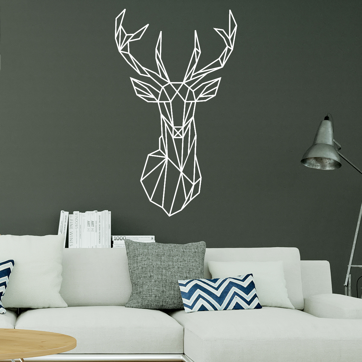 stickers cerf boutique stickers en ligne. Black Bedroom Furniture Sets. Home Design Ideas